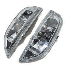 2Pcs FOR 01-02 Toyota COROLLA CLEAR LENS BUMPER DRIVING FOG BULBS Lights LH RH