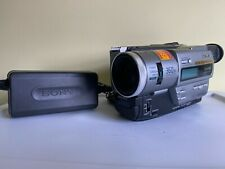 Sony Dcr-Tr7000 Digital8 Handycam Camcorder Digital8 Hi8 Tested Ac Adapter Clean