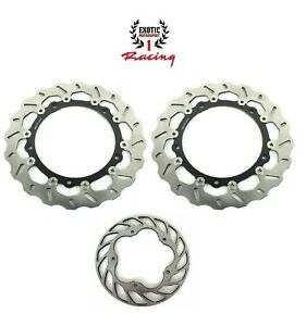 Front & Rear Brake Discs Rotors for BMW S1000RR 09-16 S1000R  2014-2017