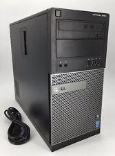 Dell Optiplex 9020 Desktop - Intel i7-4790 @ 3.6GHz 16GB RAM 500GB HDD Radeon R5