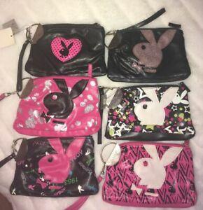 VTG Playboy Bunny wristlet bag purse makeup cosmetic  RARE  (1BAG)