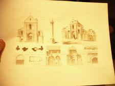 dessin planche eglise st pierre au parvis monuments historiques beaux arts