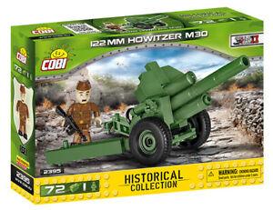 Cobi 2395 - 122mm Howitzer M30 (72pcs)  - Building Blocks - (WWII)