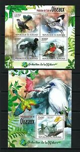 Burundi 2012 Sc#1122,#1142  Nature Protection-Birds & Air Pollution  MNH Set $23
