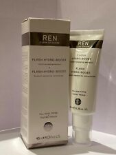 REN Flash Hydro-Boost Instant Plumping Emulsion 40ml. Brand New And Boxed.