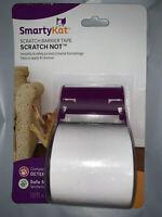 """SmartyKat ScratchNot Deterrent Barrier Tape 18'X2"""" Kitten Training No Scratch"""