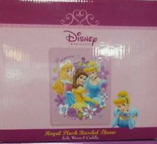 Brand New Official Disney Princess Throw Size Acrylic 40X50 Blanket
