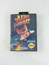 Aero the Acro-Bat SEGA GENESIS video game 1993 Sunsoft TESTED with Case vintage