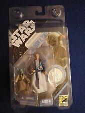 Vintage Star Wars Yoda & Obi-Wan Ralph McQuarrie Comic Con Signature Series MOC