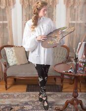 Victorian Trading Co NWOT Hopeless Romantic Artist White Smock Blouse XL 26A