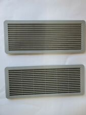 03-09 Mercedes Benz W211 W220 W208 Sunroof Panel Grille Vent Set Light Gray.