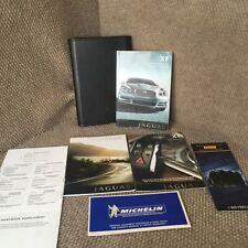 2008 Jaguar XF Owners Manual Complete set with Navigation Section and case