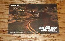 1983 Oldsmobile Hurst Brochure 83 Cutlass Olds Road Show Sales Rally 83