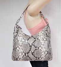 EUC Authentic Michael Kors Chain Snakeskin Leather Tote Bag  P22