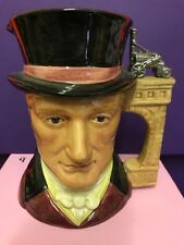 LARGE ROYAL DOULTON TOBY JUG GEORGE STEPHENSON D7093 **LIMITED EDITION**