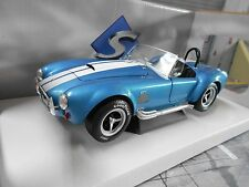 AC SHELBY COBRA FORD v8 427 MKII BLU BLUE MET. 1965 solido metallo nuovo 1:18