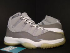 2001 Nike Air Jordan XI 11 Retro COOL GREY WHITE BLACK PATENT 136046-011 NEW 9