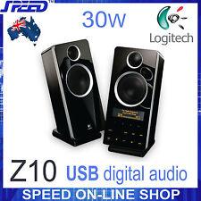 Logitech Z-10 30W USB Studio-Quality Audio 2.0 Speaker System with LCD Display
