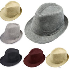 c815ac993 Polyester Fedora Hats for Men for sale | eBay