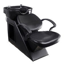 Backwash Barber Shampoo Chair Bowl Sink Salon Beauty Equipment Station Unit Spa