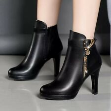 Women's Super Cute Short Boots With Round Toe