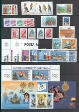 Moldova 1992 Lot Complete year set MNH stamps and blocks