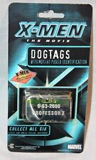 NEW  X-MEN PROFESSOR X  DOG TAG   AUTHENTIC COLLECTIBLE MARVEL  2000