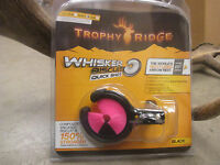 New Trophy Ridge Whisker Biscuit Quick Shot Rest Universal RH/LH MEDIUM PINK