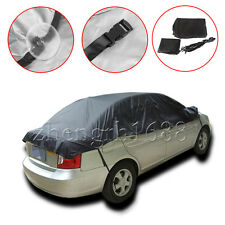 1pc Half Car Auto Window Snow Rain Sun UV Cover Protector Sunshade Waterproof