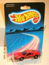 1986 HOT WHEELS - STREET BEAST - FERRARI 308 in RED  #3975  *MINT ON CARD*