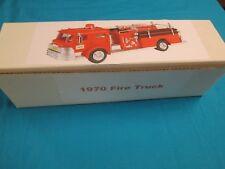 1970 Hess Fire Truck Box with Bottom Insert