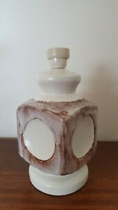 Vintage Pottery Lamp Base - Ellis ?