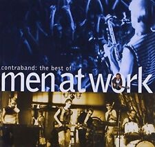 Men at Work Contraband The Best of Austria 1st Press CD INXS Crowded House