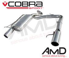 Cobra Sport BMW 318d 320d E91 E92 de doble salida de escape 335 Estilo Inoxidable BM64