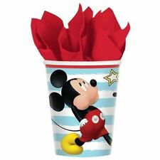 MICKEY MOUSE On the Go 9oz PAPER CUPS (16) ~ Birthday Party Supplies Beverage