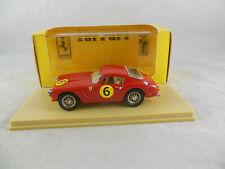 """IDEA 3 RIF 103/D 1961 FERRARI 250 GT"""" + SWB """"TOURIST TROPHY Parkes RACING No.6"""