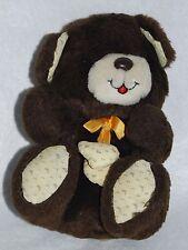 """Vintage Teddy Bear MTY International 9"""" Plush Stuffed Animal Toy Taiwan"""