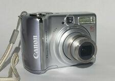 Canon PowerShot A550 7.1 Mega Pixels 4x Optical Zoom Digital Camera - Silver