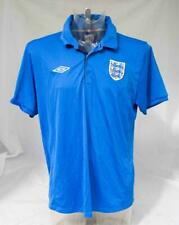 Mens England Football Shirt Tailored By Umbro Polo Style Shirt Size XL Lot A17