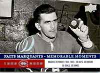 2008-09 Upper Deck Montreal Canadiens Centennial Set Maurice Richard #290