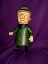 UPA 12 inch Mr. Magoo Hard Plastic Figure (1958) with Five Movable Parts
