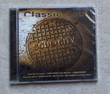 "CD AUDIO MUSIQUE / VARIOUS ""CLASSIC SOUL - SOUL.CITY"" 18T CD COMPILATION NEUF"