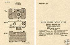 Argus 1938 35mm Appareil Photo Verni Type Imprimé Ready Pour Cadre Instantanée