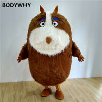 2020 Squirrel Groundhog Mascot Costume Suits Cosplay Party Game Dress Outfits Ad