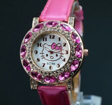 9dd38dab0 USA Seller Silicone Hello Kitty cat with diamonds Watch For children