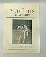 1926 The Youth's Companion Vintage Advertising Montgomery Ward Spalding Ivory