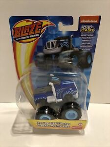 Nickelodeon Blaze And The Monster Machines Die Cast- Racing Flag Crusher 3+