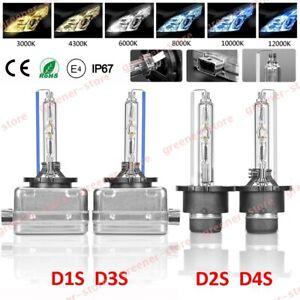 2X 35W 55W D1S D2S D3S D4S 6000K 8000K Car HID Headlight Xenon Replace Lamp Bulb