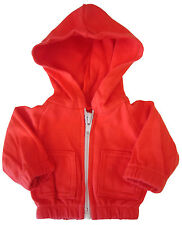 """Red Hoodie Jacket for 18"""" American Girl or Boy Logan Doll Clothes"""