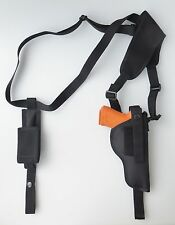 Shoulder Holster FOR SIG SAUER P220 & P226 with Single Mag Pouch Vertical Carry